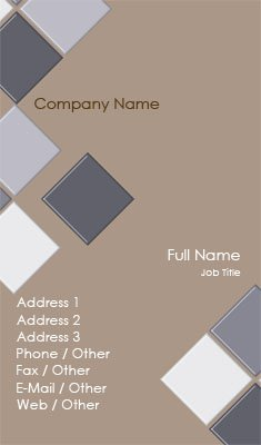 Ceramic Tile Business Card Template